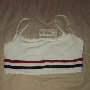 L*Space bathing suit top